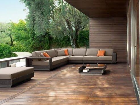 sofá exterior decoracao