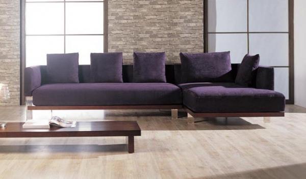 sofa com chaise moderno