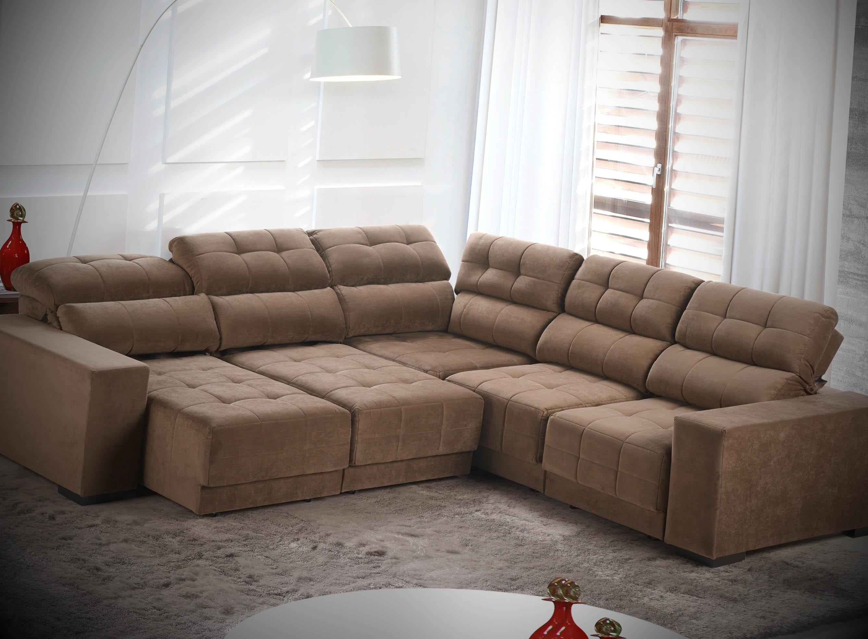 sofa de canto 5 lugares