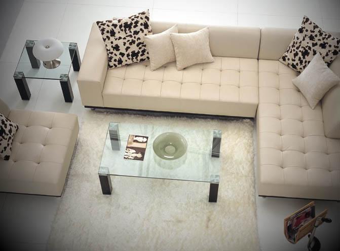 sofa de canto moderno