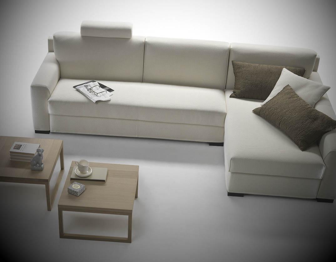 sofa de canto simples