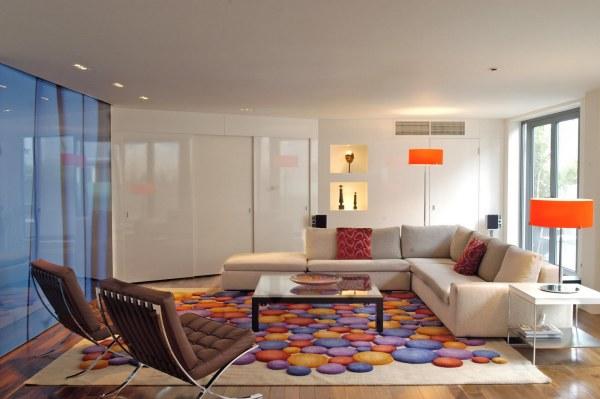 tapete colorido persa