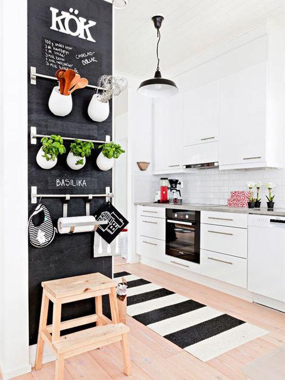 tapete cozinha decoracao listras