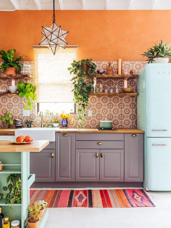 tapete cozinha decoracao longo
