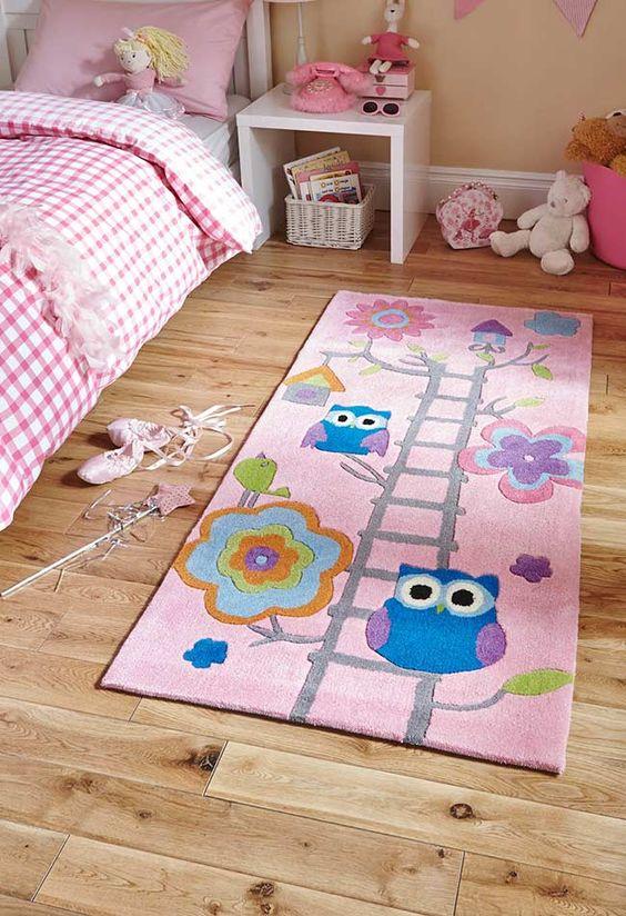 tapete crianca quarto