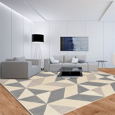 tapete moderno sala geometrico