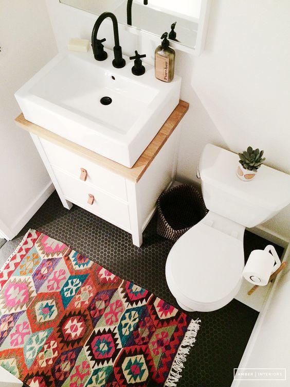 tapetes banheiro dicas inspiracoes 1