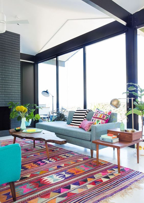 tapetes coloridos sala 1