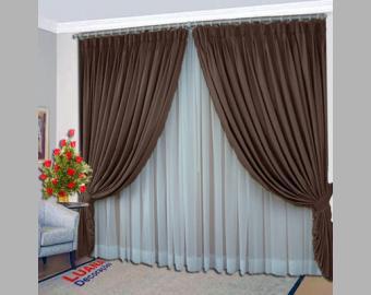 tecido cortinas rustico 1