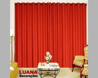 tecido cortinas rustico