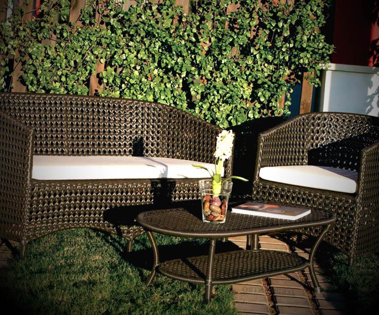 tipos de mesas para jardins