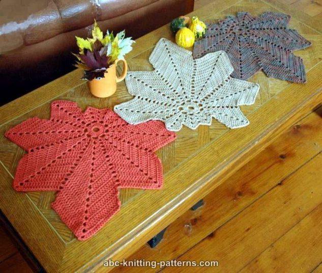 toalha de mesa de croche bico