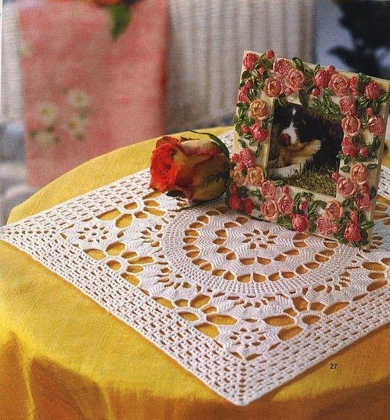toalha de mesa de croche quadrada 2