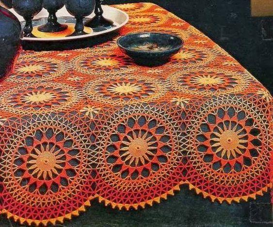toalha de mesa de croche quadrada 3