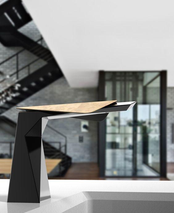 torneira cozinha moderna preta
