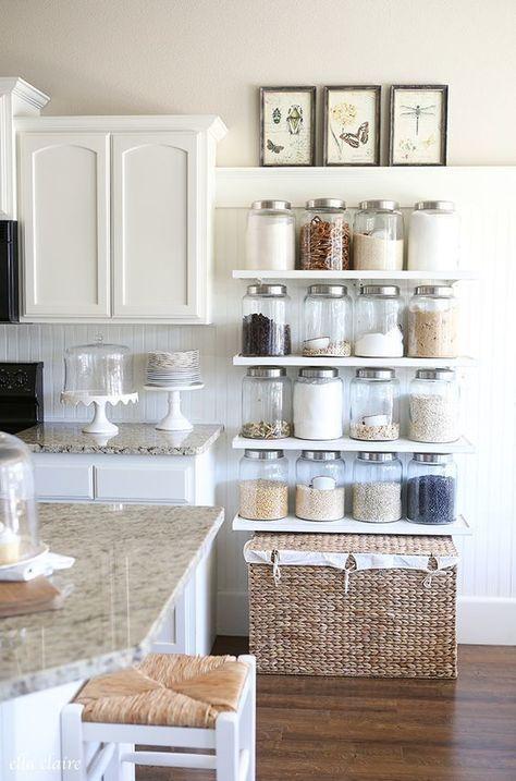 truques cozinhas pequenas prateleiras 1