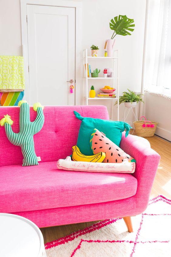 usar cores na decoracao 12
