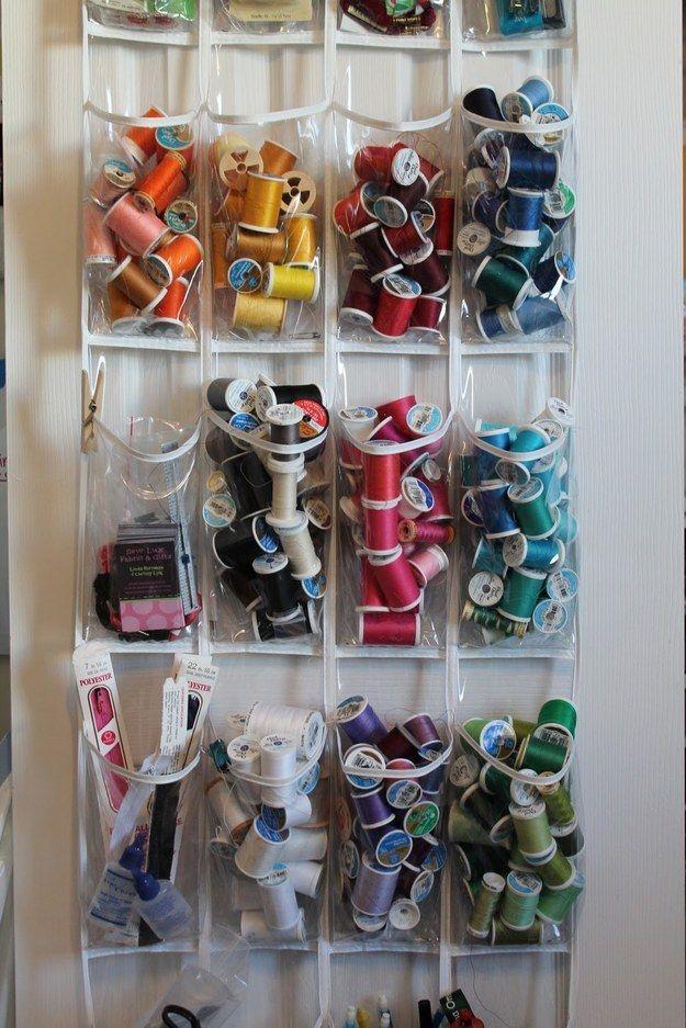 utilidades organizador sapatos costura