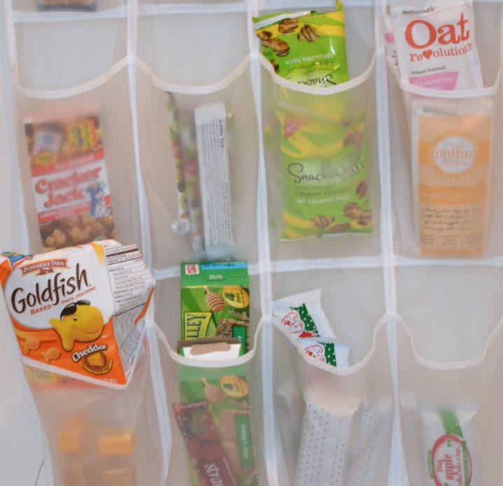 utilidades organizador sapatos snacks