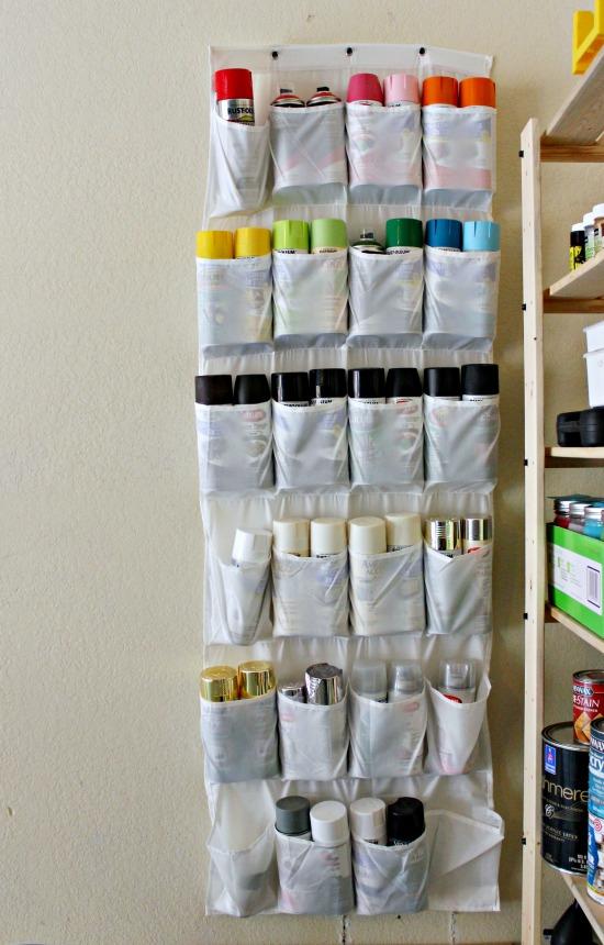 utilidades organizador sapatos tintas