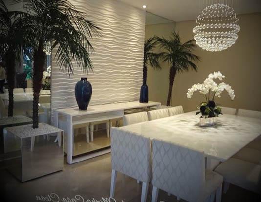 vaso decorativo sala de jantar