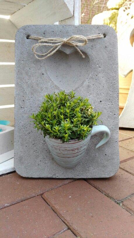 vasos de cimento criativos 1