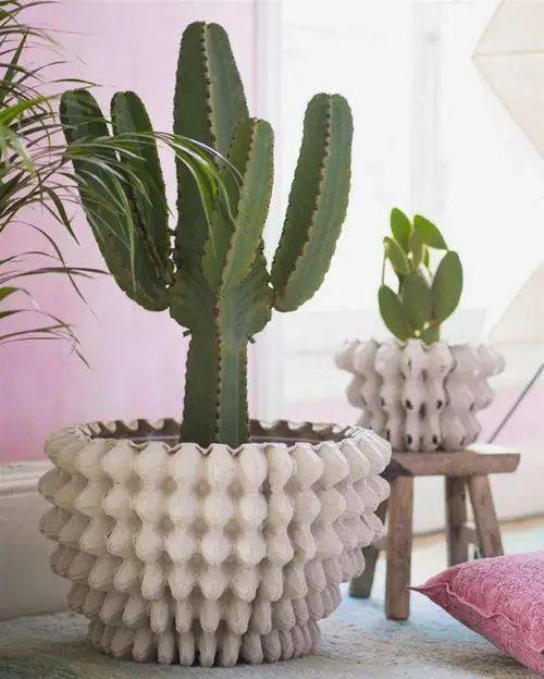 vasos de cimento criativos 2