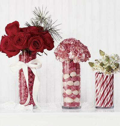 vasos de vidro para decoraçao
