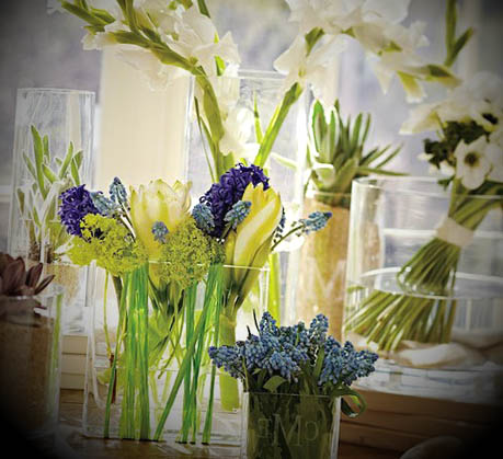 vasos decorativos para a casa com flores